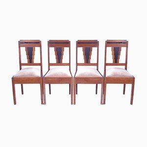 Art Deco Amsterdam Oak Chair
