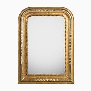 Spiegel mit X-Radierungen