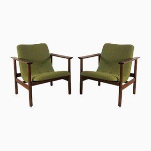 Moderne Skandinavische Armlehnstühle, 2er Set