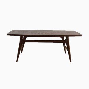 Table Basse Vintage en Teck, 1960s