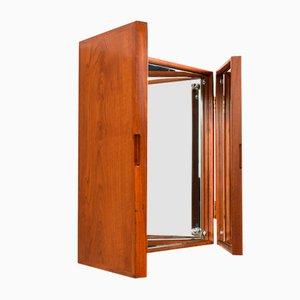 Teak Mirror by Peter Hvidt & Orla Mølgaard-Nielsen, 1950s