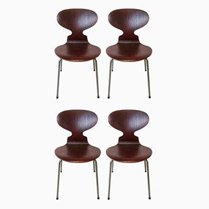 Ant Dining Chairs by Arne Jacobsen for Fritz Hansen, 1950s, Set of 4