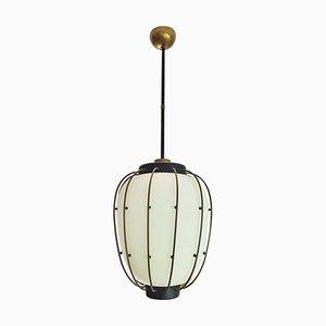 Italian Ceiling Lamp by Angelo Lelli for Arredoluce, 1950