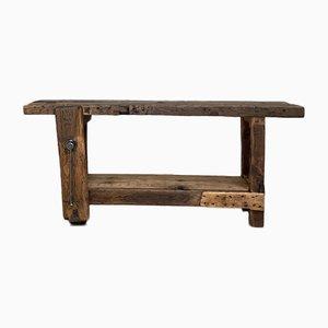 Arbeitstisch aus Holz