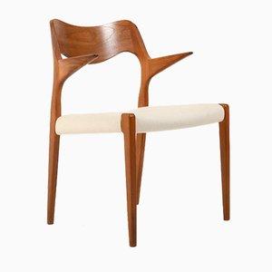 Modell Nr. 55 Stuhl aus Teak von Niels O. Moller für JL Møllers