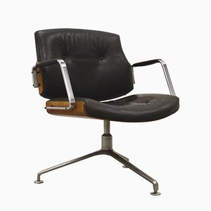 FK84 Office Chair by Jorgen Kastholm & Preben Fabricius for Kill International, 1960s