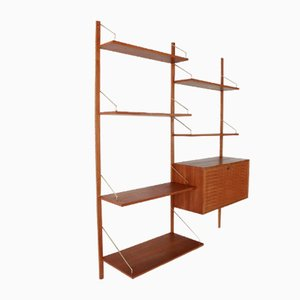 Royal Wall Unit by Poul Cadovius for Cado, Denmark, 1960s