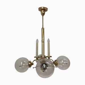 Brass Chandelier, Czechoslovakia