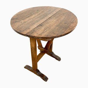 Small French Antique Wine Table