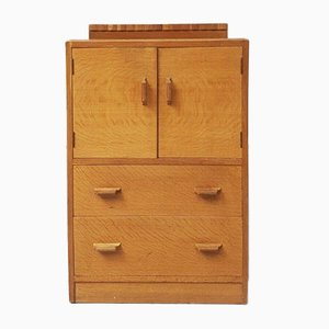Mid-Century Oak Tallboy Cabinet by E. Gomme for G-Plan