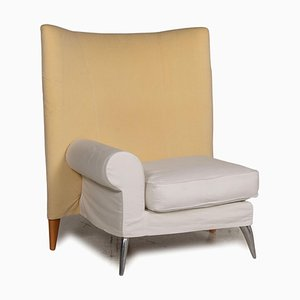 Royalton Fabric Beige Chair by Philippe Starck for Driade