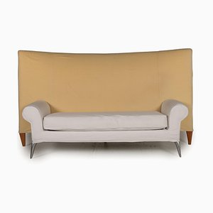 Royalton Beige Fabric 2-Seater Sofa by Philippe Starck for Driade