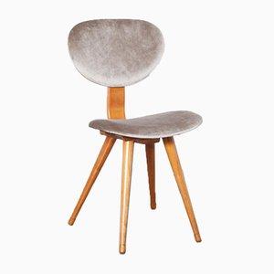 Vintage Stuhl aus Hellem Stein oder Braungrau von Pastoe
