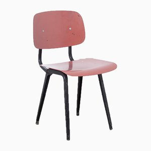 Revolt Chair in Red by Friso Kramer for Ahrend De Cirkel
