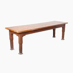 Long Refectory or Cloister Table