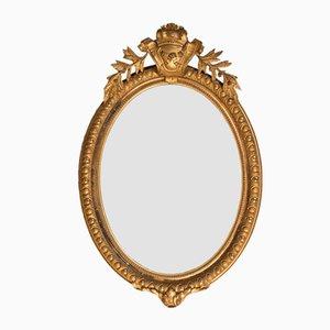 19th Century Oval Mirror