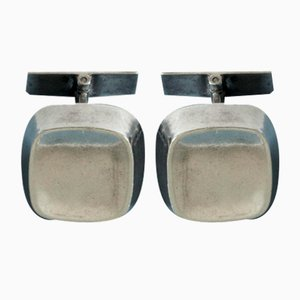Silver Cufflinks by Sigurd Persson, Set of 2