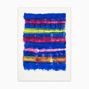 Tinta # 8, Fraying, Pintura abstracta, 2020