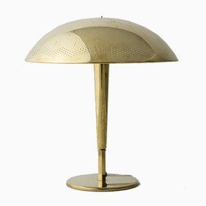 Messing Tischlampe von Paavo Tynell