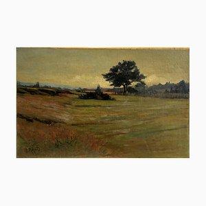 Joseph Mégard, Landschaftsblick, 1902