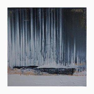 Paul Lorenz, Absenz mit Schwarzem Pier, Abstrakte Zeitgenössische Amerikanische Kunst, 2007