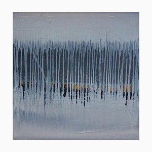 Paul Lorenz, Absence with Black and Ocker, Abstrakte Zeitgenössische Amerikanische Kunst, 2007