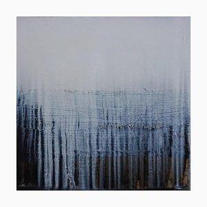 Paul Lorenz, Absenz mit Schwarzem und Horizont, Abstrakte Zeitgenössische Kunst, Amerika, 2007