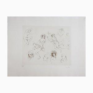 Leonor Fini Sketch, 1972