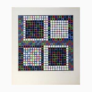 Victor Vasarely, Composition Cinétique, 1964
