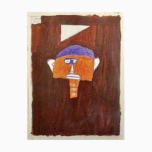 Paul Duhem, Tête Orange, 1995