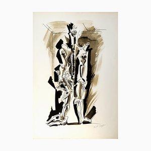 André Masson, Sans Titre, 1970
