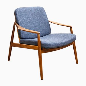 German Mid-Century Modern Teak Lounge Chair by Hartmut Lohmeyer for Wilkhahn, 1950