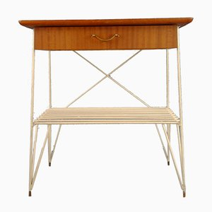 String Hallway Side Table with 1 Drawer, Sweden, 1960s