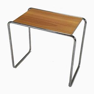Bauhaus Chrome Side Table by Marcel Breuer for Thonet, 1930s
