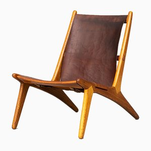 Hunting Chair by Uno & Östen Kristiansson for Luxus, 1950s