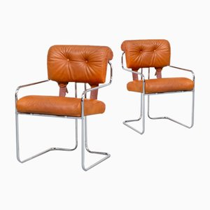Tucroma Dining Chairs by Guido Faleschini for i4 Mariani, 1970s, Set of 2