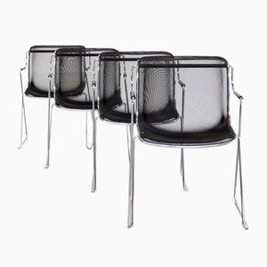 Penelope Stühle von Charles Pollock für Castelli, 4er Set