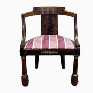 Sessel aus Mahagoni, 19. Jh