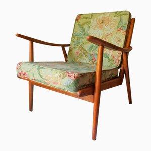Mid-Century Ash Lounge Chair, 1950s