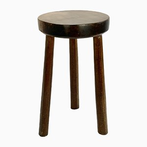 Antique Italian Winery Stool, Late 19th or Early 20th Century