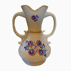Vintage Porcelain New Look Vase from Fabryka Porcelany Chodzież, 1950s or 1960s