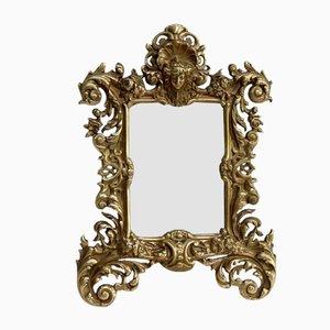 Napoleon III Gilt Bronze Mirror