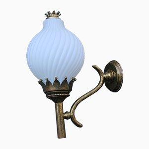 Große Tortiglioni Wandlampe von Angelo Lelli für Arredoluce, 1950er