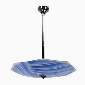 Art Deco Lamp by Loys Lucha