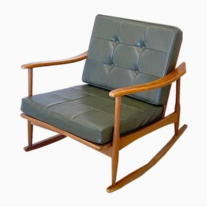 Wooden Rocking Chair, 1960s