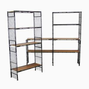 Spanish Modular MULTI STRUX Shelves from Multimueble, 1960s, Set of 19