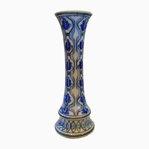 Vase Vintage en Porcelaine de Cobalt, 1970s
