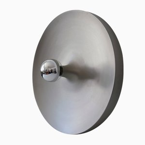 Large Mid-Century Modern Disc Sconce or Flush Mount from Staff & Schwarz, Germany