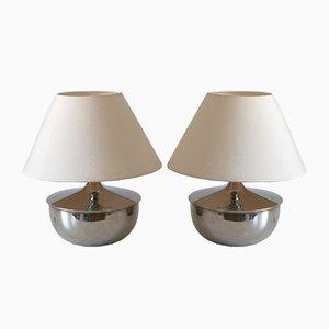 Mid-Century Modern Tischlampen, Deutschland, 1970er, 2er Set