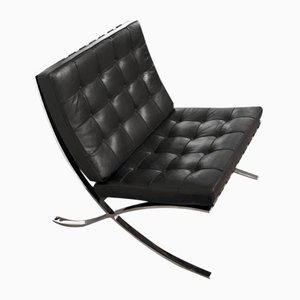 Barcelona Chair by Ludwig Mies van der Rohe for Knoll International, 1980s